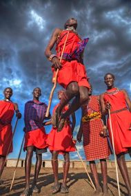 Danse traditionnelle Maasai - Photo Pinterest